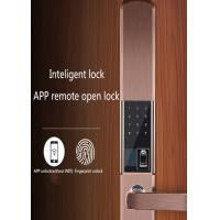 Quality Infrared Induction Automatic Biometric Door Lock With Intelligent Cloud System wholesale