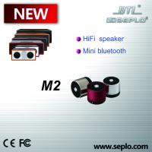 China Mini type bluetooth speaker M2 , Hand free 5W Stereo voice Portable mini bluethooth speaker with FM radio on sale
