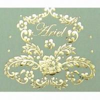 China 2013 Gold Foil Heat Transfer Paper with 4 to 5kg Pressure on sale