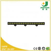 Quality 160w off road led light cree 10-30v single row led light bar made in China wholesale