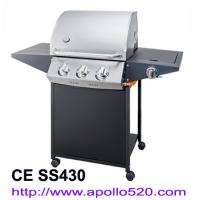 Quality Powder Coated 3 Burner Gas Barbecues wholesale