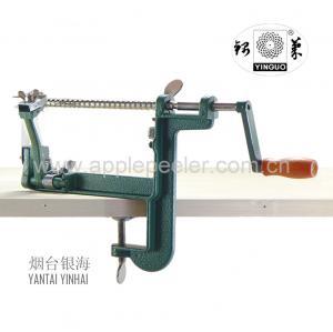 China Multi-function aluminum alloy peeler, apple peeler & slicer & corer clamp on sale