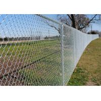 Quality Metal Mesh Fence 6 ft x 50 ft 11.5 Gauge PVC Coated Steel Aluminium Alloy Wire wholesale