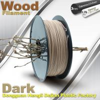 Quality Anti Corrosion Wooden Filament For 3D Wood Printing Material 1.75mm / 3.0mm wholesale