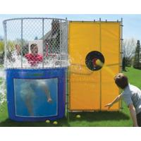 China Interactive Dunk Tank Water Game Outdoor Party Water Sport Dunking Booth on sale
