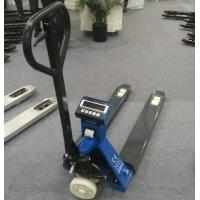 China Portable Pallet Jack With Built In Scale / Pallet Jack With Scale And Printer on sale