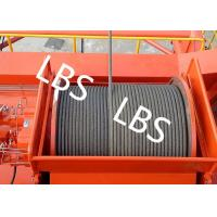 Quality High Efficiency Carbon Steel Tower Hoist Winch With Lebus Grooved Drum wholesale