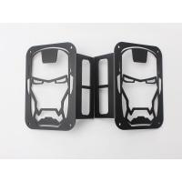 Quality Iron Man Taillight cover for jeep wrangler JK 07+ taillamp cover offroad accessories wholesale