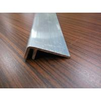 Quality 6063T5 Mill Finish Aluminium Angle Extrusions with Different Sizes Stock Mould wholesale