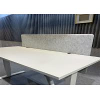 China Computer Office Workstation Partition 100% Polyester Fiber Material on sale
