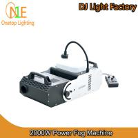 Quality 2000W Power Fog Machine China DJ Light Factory Stage Light wholesale
