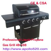 Cheap 4 burner BBQ Outdoor Gas Grills for sale