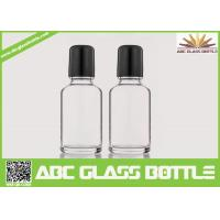 Quality Wholesale White 30ml Roll On Glass Bottle With Roller, Bottle Roll-on, Clear Essential Oil Glass Bottle wholesale