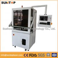 Quality 50W Europe standard fiber laser marking machine with Full enclosed structure wholesale