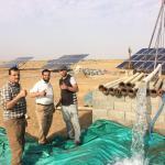 Quality High Voltage 380v 50hz Solar Pump Irrigation System 22kw Commercial Use wholesale