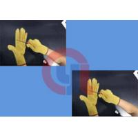 Quality Light Weight Aramid Fiber Gloves / Cut Proof Gloves For Armed Police Operation wholesale