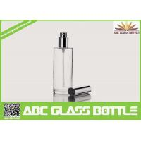 Cheap Factory Wholesale 100ml Empty Perfume Glass Bottle With Aluminum Cap,Free for sale