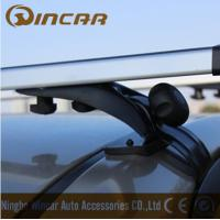 Cheap 3 In 1 Removable Car Roof Racks , Aluminum roof cross bar for MAZDA MITSUBISHI TOYOTA for sale