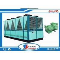 Quality Foaming Equipment Air Cooled Screw Chiller 100 Ton SGS ISO9001 Certification wholesale
