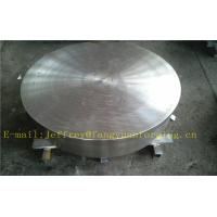 Quality P355QH EN10273 Carbon Steel Forged Disc  PED  Export To Europe 3.1 Certificate Pressure Vessel Blank Flange wholesale