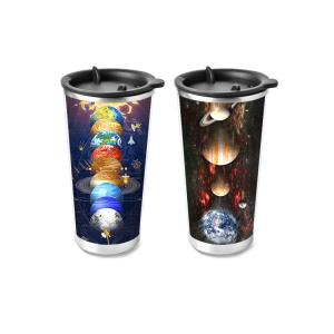 Quality 450ml PP Cup 3D Lenticular Printing Service For Promotion Gifts wholesale