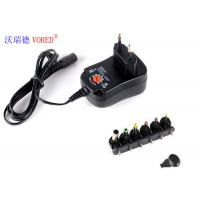 Cheap 3 - 12V Adjustable Multi Voltage Power Adapter EU Plug PC ABS Material for sale