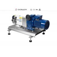 316L Horizontal TUL Lobe High Purity Pumps with Explosion proof Motor Clamp End Connection