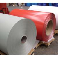 Quality High Performance PE / PVDF Color Coated Aluminium Coil Max 2000mm Width wholesale