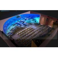Quality 5.1 / 7.1 Audio 4D Movie Theater With Pneumatic / Hydraulic / Electronic Control wholesale