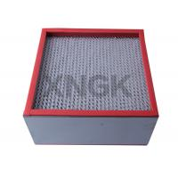 Quality Chemical Industry High Temperature Hepa Filters 99.99 Efficiency SUS Frame wholesale