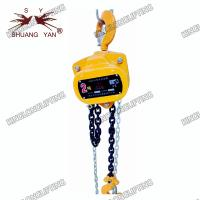 China High Preciseness Block And Tackle Hoist Double Pawl Spring Strong Tenacity on sale
