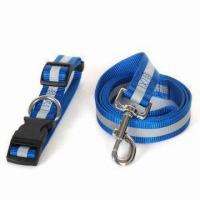 China Reflective Pet Leash and Collar Set, Reflective for Safety Use at Night on sale