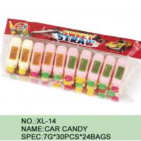 Quality Different Color Healthy Candy Sugar Powder Novelty Car Shape Eco - Friendly wholesale