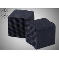 Quality Black KHY Activated Carbon Honeycomb For Chemical Industrial Exhaust Treatment wholesale