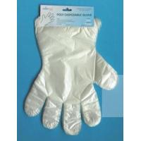 Quality HDPE Glove with Paper Card wholesale