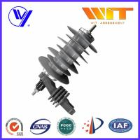 Quality 18KV Silicon Rubber Metal Oxide Station Class Surge Lightning Arresters for Transformer Protection wholesale
