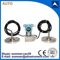 4-20mA output flush diaphragm differential pressure transmitter with LCD display