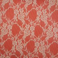 Quality embroidered lace fabric,made of nylon,colors and sizes are available wholesale