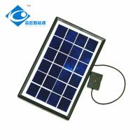 China 2.5W 6V Glass Laminated Solar Panel for mini solar panel charger ZW-2.5W-6V Residential Solar Power Panel on sale