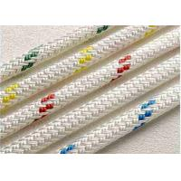 Quality PP multifilament diamond 16 braids yacht Jib sheets Control Lineswire pulling Tie-down rope code wholesale