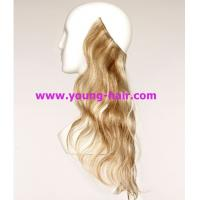 China flip in hair extension hot new products for 2014 halo hair etension 10-30 various colors on sale