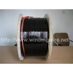 China Enameled Flat Aluminum Wire Size on sale