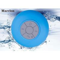 Cheap 3.5mm Audio Music Bluetooth Speaker Water Resistant With Card Reader Function for sale