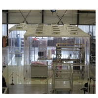 China Portable Class 100 clean room, Mobile type ISO5 portable clean rooms on sale