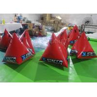 China Safety Red Inflatable Marker Buoy 1M / 1.2M / 1.5M Size Easy Operation on sale