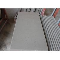 China Grey Beautiful Spot Quartz Table Top , Solid Surface Kitchen Countertops Acid Resistant on sale