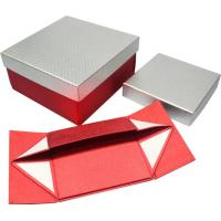 Quality High grade foldable Paper Gift Boxes , magnets closure paper gift wine box wholesale