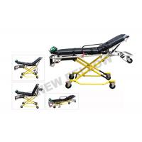 Quality NEW ! Multi - Lever Aluminum Alloy X - frame first aid stretcher chair with 35° Knee Angle wholesale