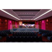 Quality Luxury Large 4D Theater System With Motion chair / Special Effect System wholesale