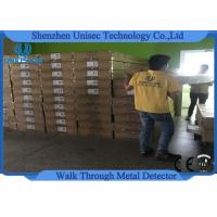 Quality Adjustable Outdoor 6 Zones Walk Through Metal Detector Security System wholesale